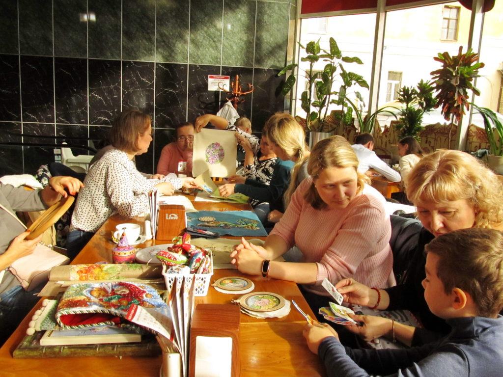 Встреча вышивальщиц в Питере 13.10.2019